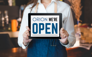 Orion Case Study: Toggle. Open sign